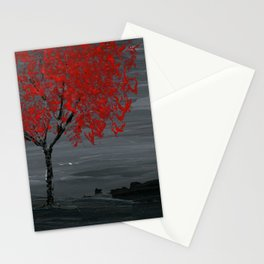 Red Tree Stationery Cards