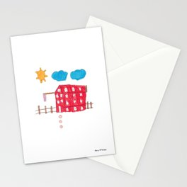The Red House Stationery Cards
