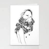 gangster Stationery Cards featuring Gangster by Avalon lewis