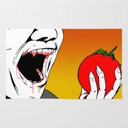 Vampires Are Vegans Too Rug