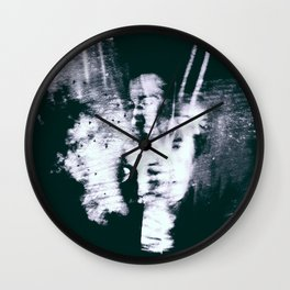 Living Riptides Wall Clock