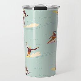 Waikiki beach Travel Mug