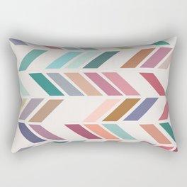 Meet Me Halfway No. 2 Rectangular Pillow