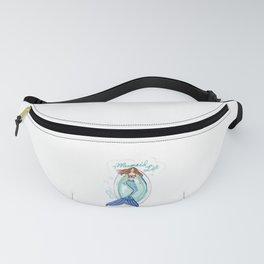 Mermaid in a Tub Fanny Pack