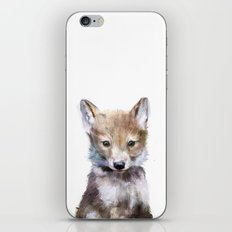 Little Wolf iPhone & iPod Skin