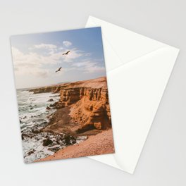 Chilean Coast Stationery Cards