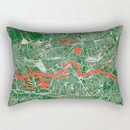 Rotterdam, Netherlands street map Rectangular Pillow