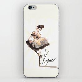 Vogue Ballerina! iPhone Skin