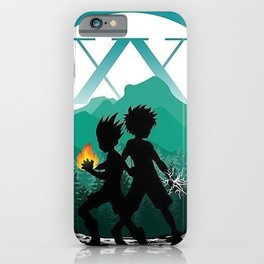 Gon and Zoldyck iPhone Case