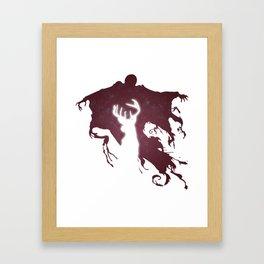 DEMENTOR AND DEER Framed Art Print