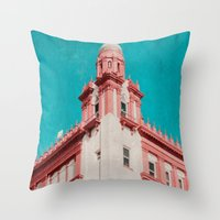 building Throw Pillows featuring Building by Sweet Moments Captured