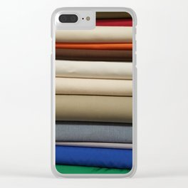 Bolt-Primary Clear iPhone Case