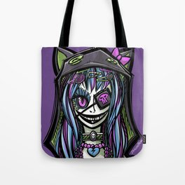Scary Harajuku Girl Tote Bag