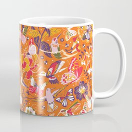 Garden pollinators | orange Coffee Mug