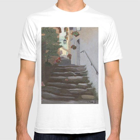 Italian Street and Stairs  T-shirt