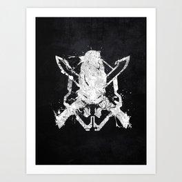 Halo Legendary Art Print