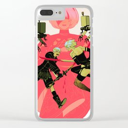 Nier Clear iPhone Case