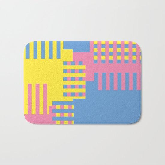 Colorful Abstract Bath Mat