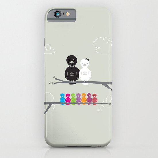 The Happy Family iPhone & iPod Case