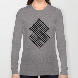 Geometric Tribal Long Sleeve T-shirt