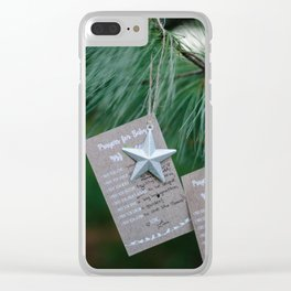 Prayers for Baby Clear iPhone Case