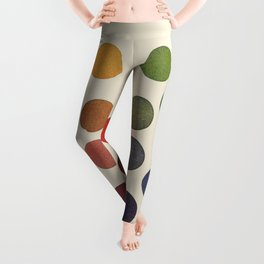 'Parsons' Spectrum Color Chart' 1912, Remake Leggings