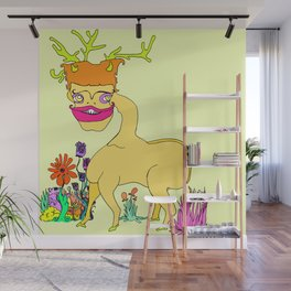 Fawning Wall Mural
