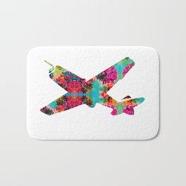 avion fleur 5 Bath Mat