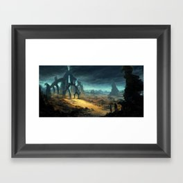 Gate to Nowhere Framed Art Print