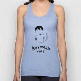 Awkward Time Unisex Tank Top