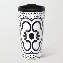 Japanese design flower pattern Travel Mug
