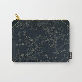 Winter Constellations Carry-All Pouch