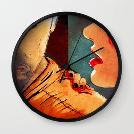 WHISPERS Wall Clock