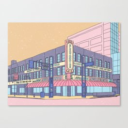 North Center Street - Reno, USA Canvas Print