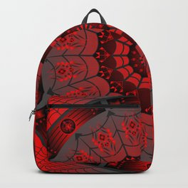 Gothic Spider Web Backpack