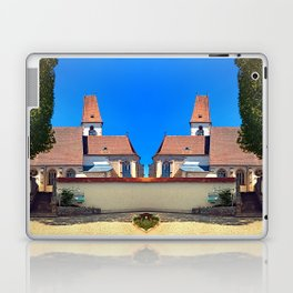 The village church of Hirschbach Laptop & iPad Skin