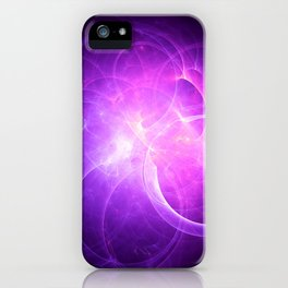 Rings of Light iPhone Case