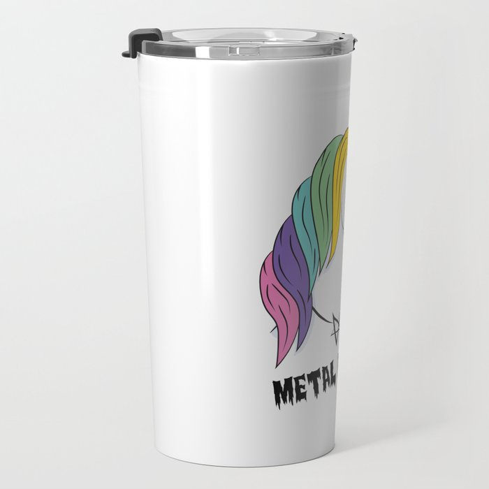Metal Unicorn Travel Mug