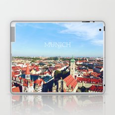 Munich skyline Laptop & iPad Skin