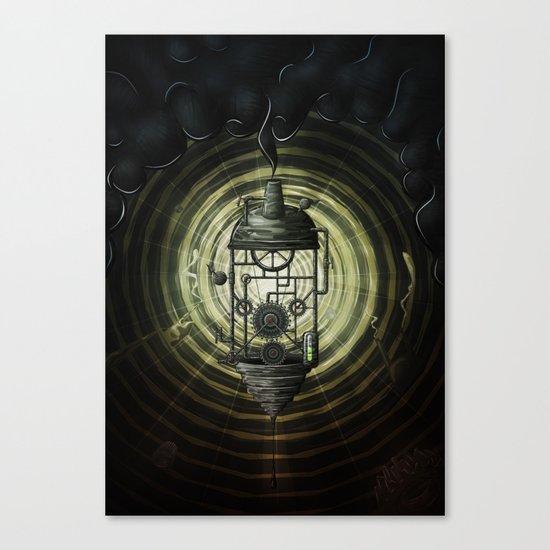 Steam Machine Canvas Print