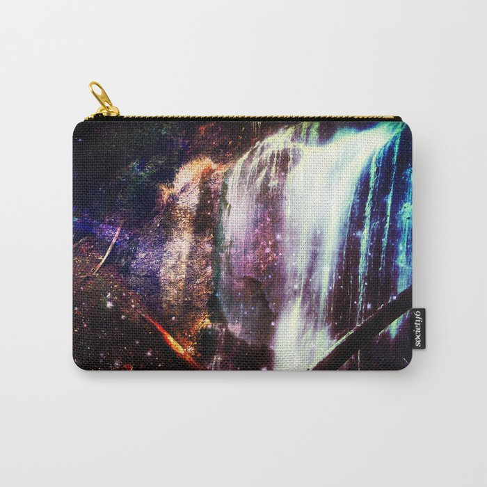 Waterfall Stars and Space Carry-All Pouch