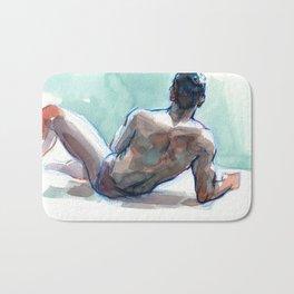 MICHAEL, Semi-Nude Male by Frank-Joseph Bath Mat