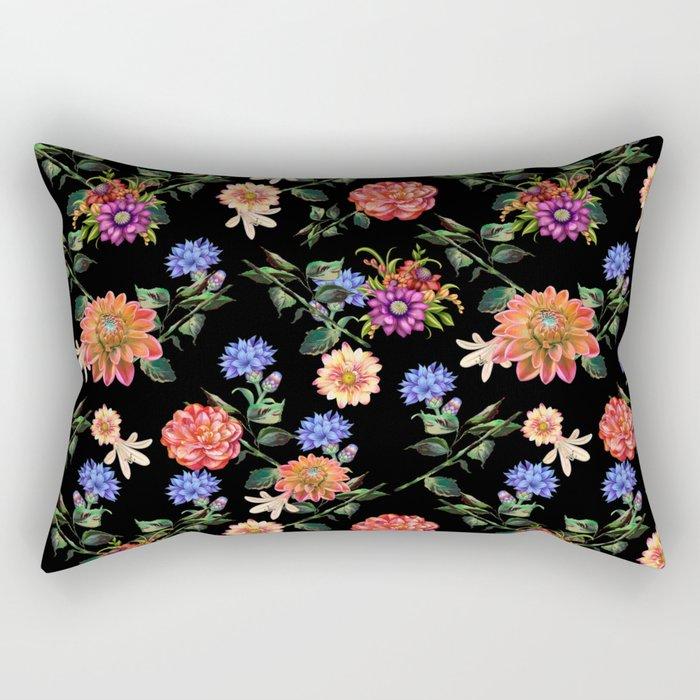 Secret Winter Garden Rectangular Pillow