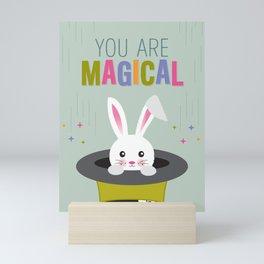 You Are Magical Bunny Mini Art Print