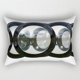 CropCirclesTwo Rectangular Pillow
