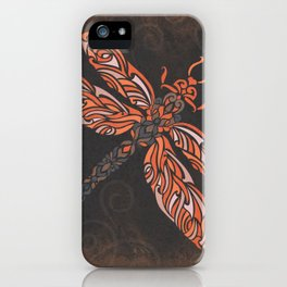 Dragonfly's Night Flight iPhone Case