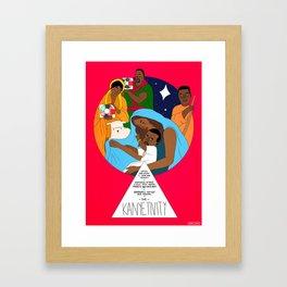 The Westivity Framed Art Print