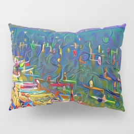 SUP Races El Dorado Beach Lake Tahoe Pillow Sham