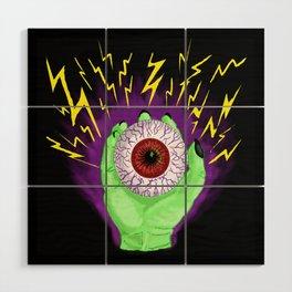Electric Eye Wood Wall Art