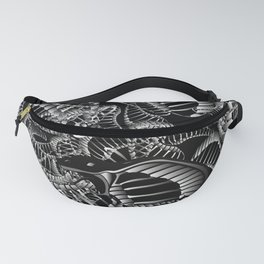 Cobra Snake Abstract Fanny Pack